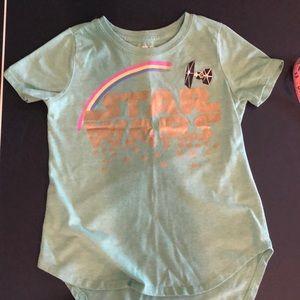 Little girls Star Wars T shirt